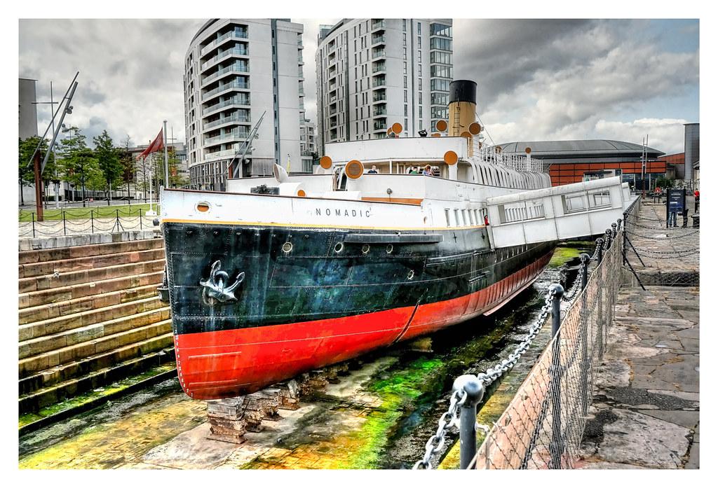 Belfast NIR - SS Nomadic 01