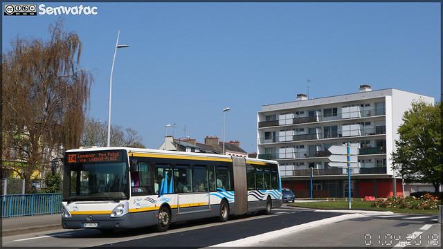Irisbus Citélis 18 – RD Lorient Agglomération (RATP Dev)  / CTRL (Compagnie de Transport de la Région Lorientaise) n°380