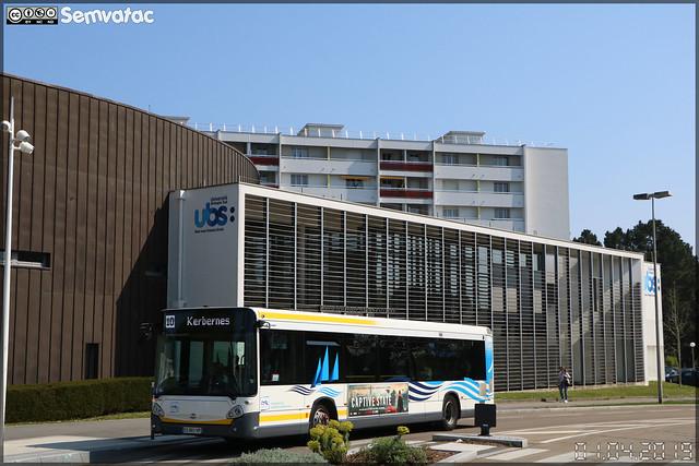 Heuliez Bus GX 337 – RD Lorient Agglomération (RATP Dev)  / CTRL (Compagnie de Transport de la Région Lorientaise) n°440