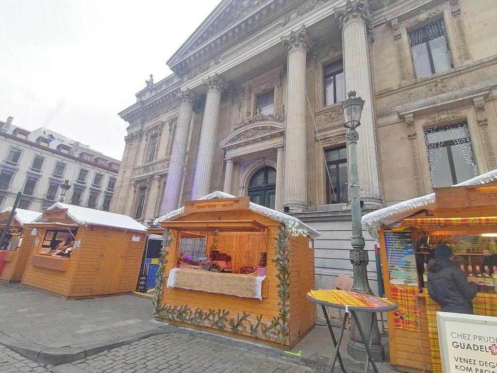 Christmas market en La Bourse #Bruselas