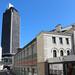 Nantes : la tour de Bretagne et l'ancien marché