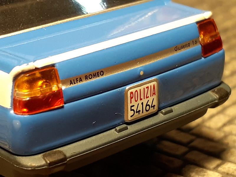 Alfa Romeo Giulietta 1.6 – Polizia – 1978