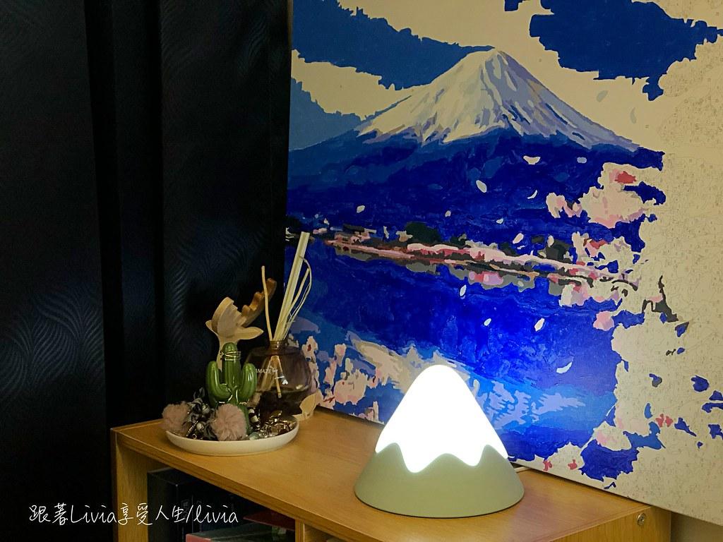 富士山夜燈12