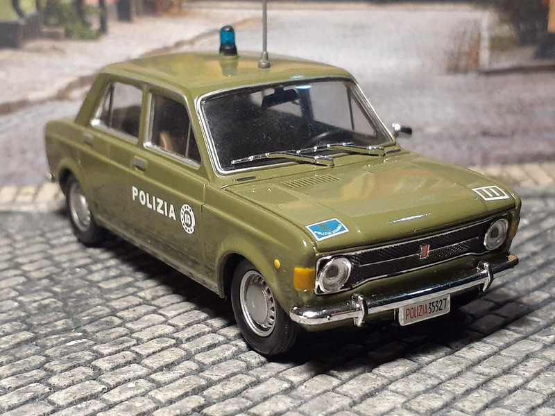 Fiat 128 - Carabinieri - 1969