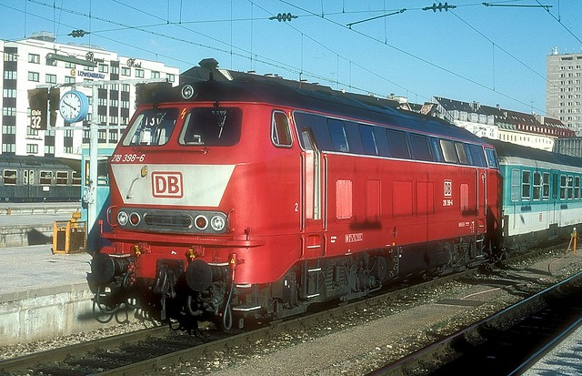 218 498  München Hbf  02.02.97