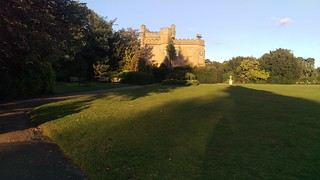 Mansion House in evening sunlight