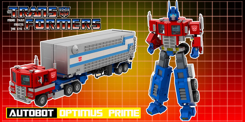 Go down memory lane with these amazing LEGO versions of classic Transformers