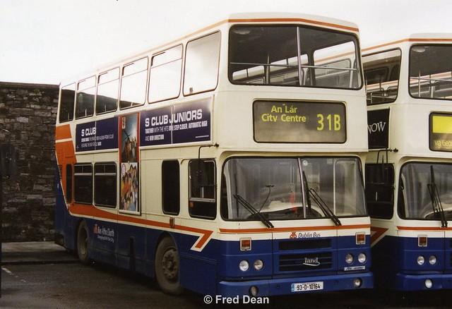 Dublin Bus RH164 (93D10164).