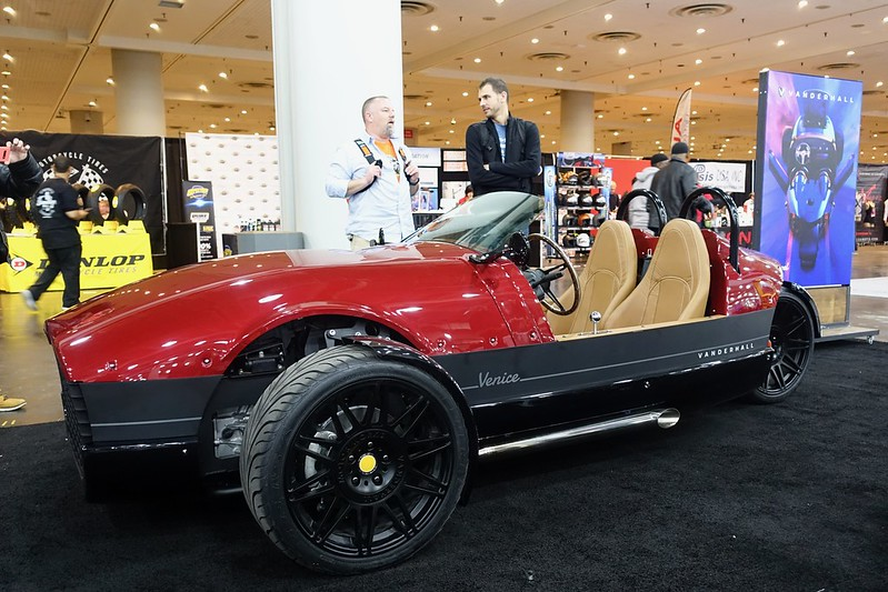 Vanderhall Venice at International Motorcycle Show