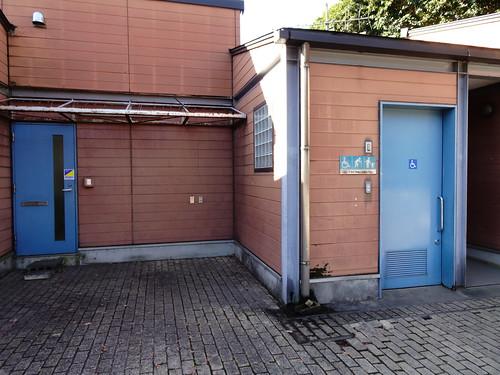 見沼自然公園のトイレ