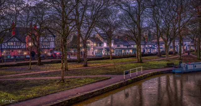 Worsley Village, Manchester