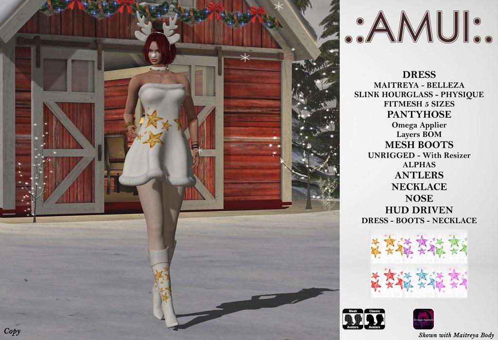 ".:AMUI:. Christmas ""Polar Stars"" Outfit"