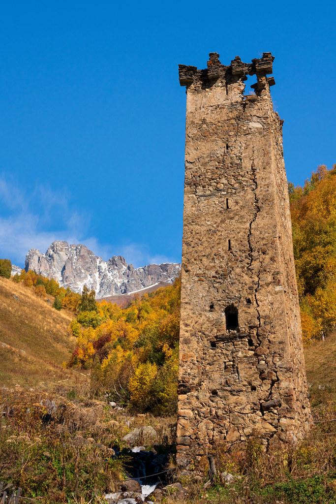 The Svan Towers of Adishi