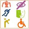 Détail des 6 catégories d'handicap