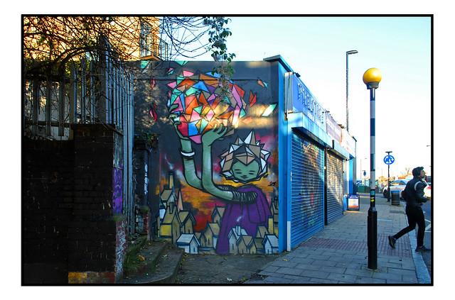 LONDON STREET ART by BUTCH ATTAI