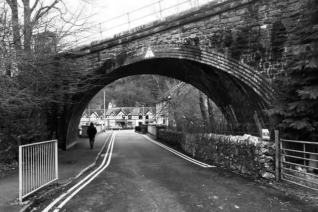 Pont reilffordd, Llanberis