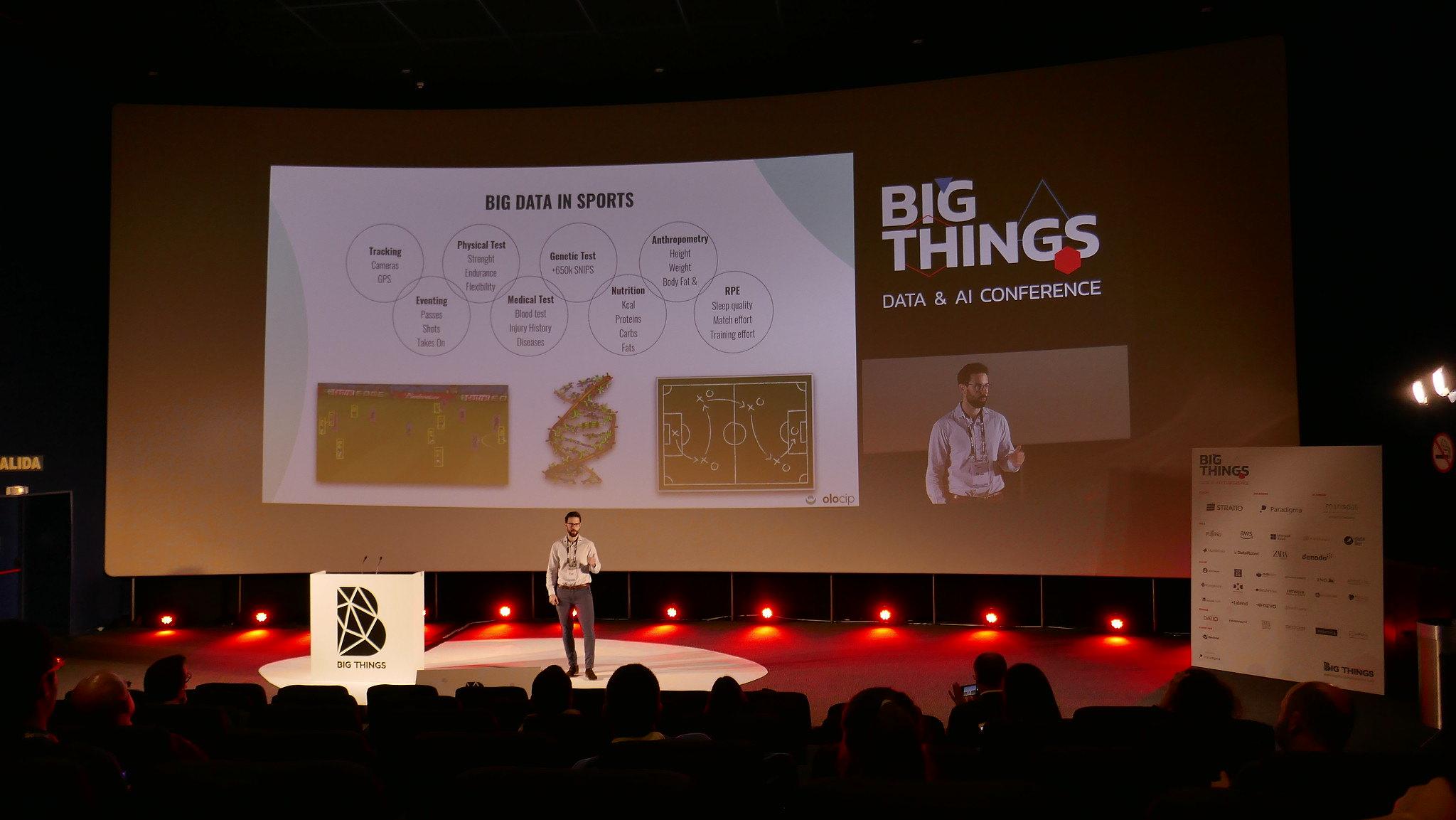 Marco Benjumeda at Big Things Conference 2019