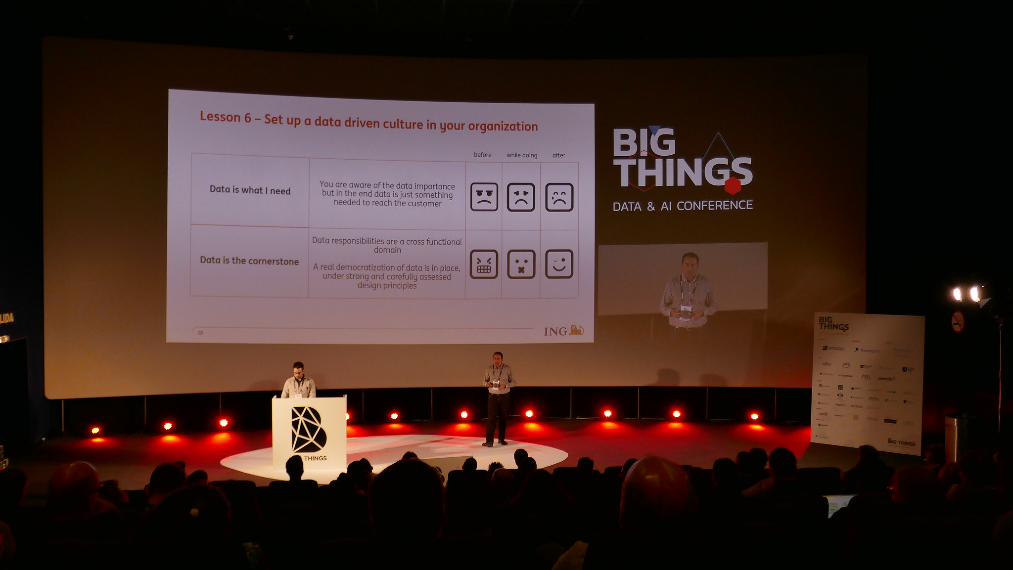 With Pablo Ruiz at Big Things Conference 2019