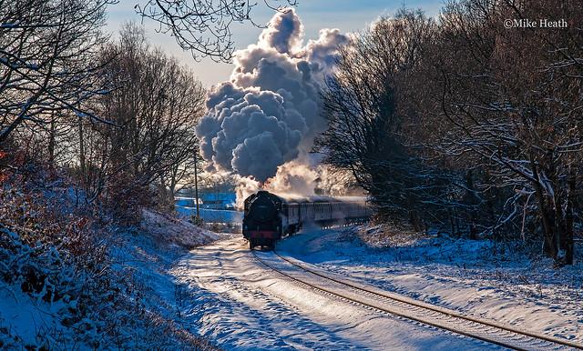 44871 -East Lancashire Railway - 19 December 2010