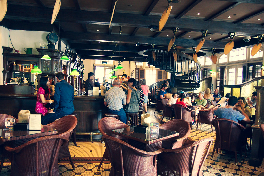 Raffles Hotel ja Singapore Sling