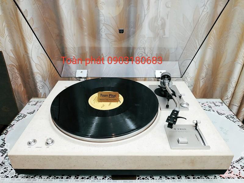Turntable Cơ mâm đĩa than thích thú phần nghe ==>> thỏa mãn phần nhìn