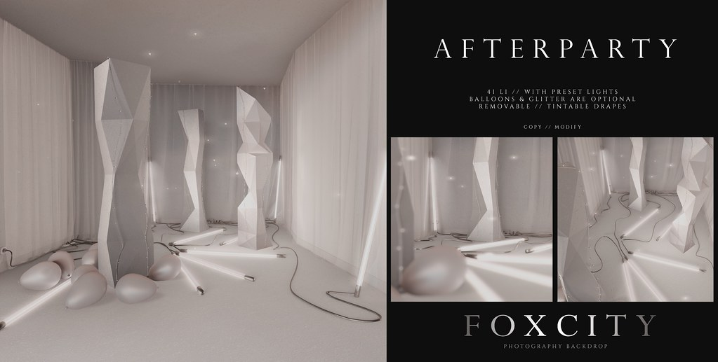 FOXCITY. Photo Booth – Afterparty