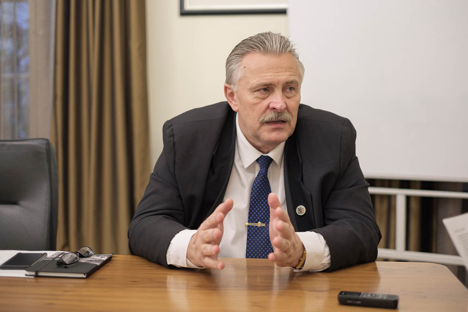 Interview with Miskolc Mayor Peter Veres