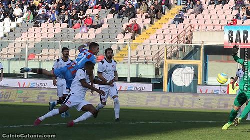 Catania-Rende 1-0: la decide Biondi, ma prestazione opaca