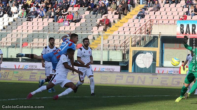 Il gol partita di Biondi