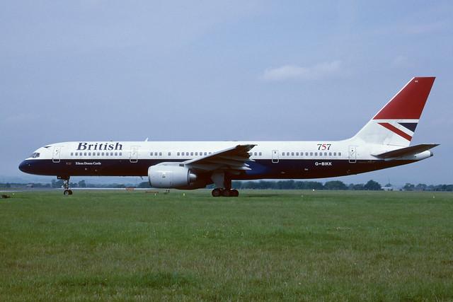 G-BIKK Boeing B757-236 EGPF 1986