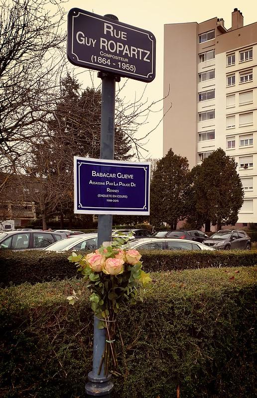 [07 Décembre 2019] – Un jour, une photo : « Hommage à Babacar Gueye... tué par la police »