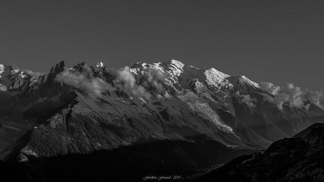 Un Soir sur la Vallée de Chamonix