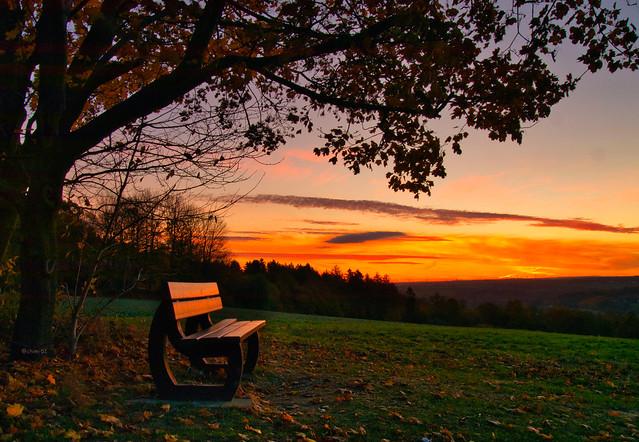 Den Sonnenaufgang genießen...