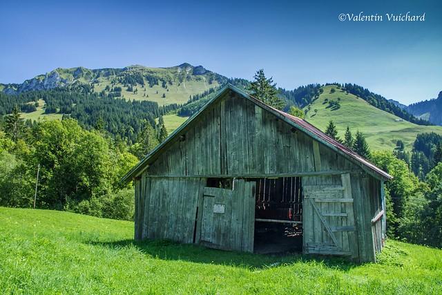 SF-_MG_3241 - Les Echelettes, old hayloft, Gruyère region - Switzerland