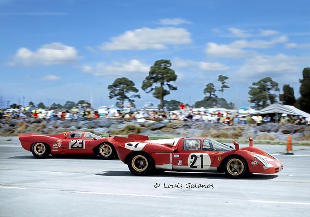 1970 Sebring 12 Hours - Winning Ferrari 512 S