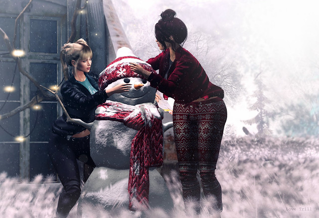 Fabulously Free in SL:  Snow Day