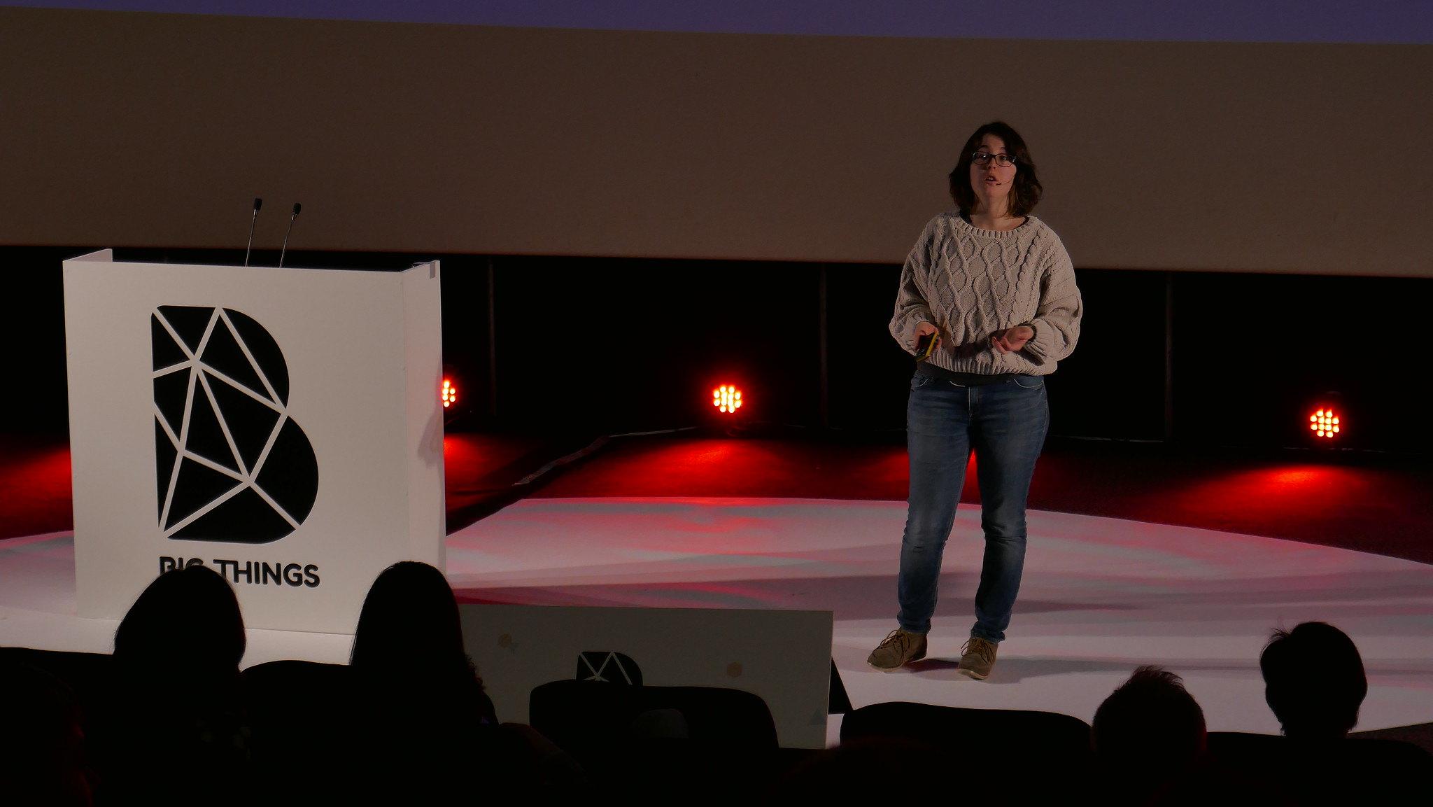 María Medina at Big Things Conference 2019