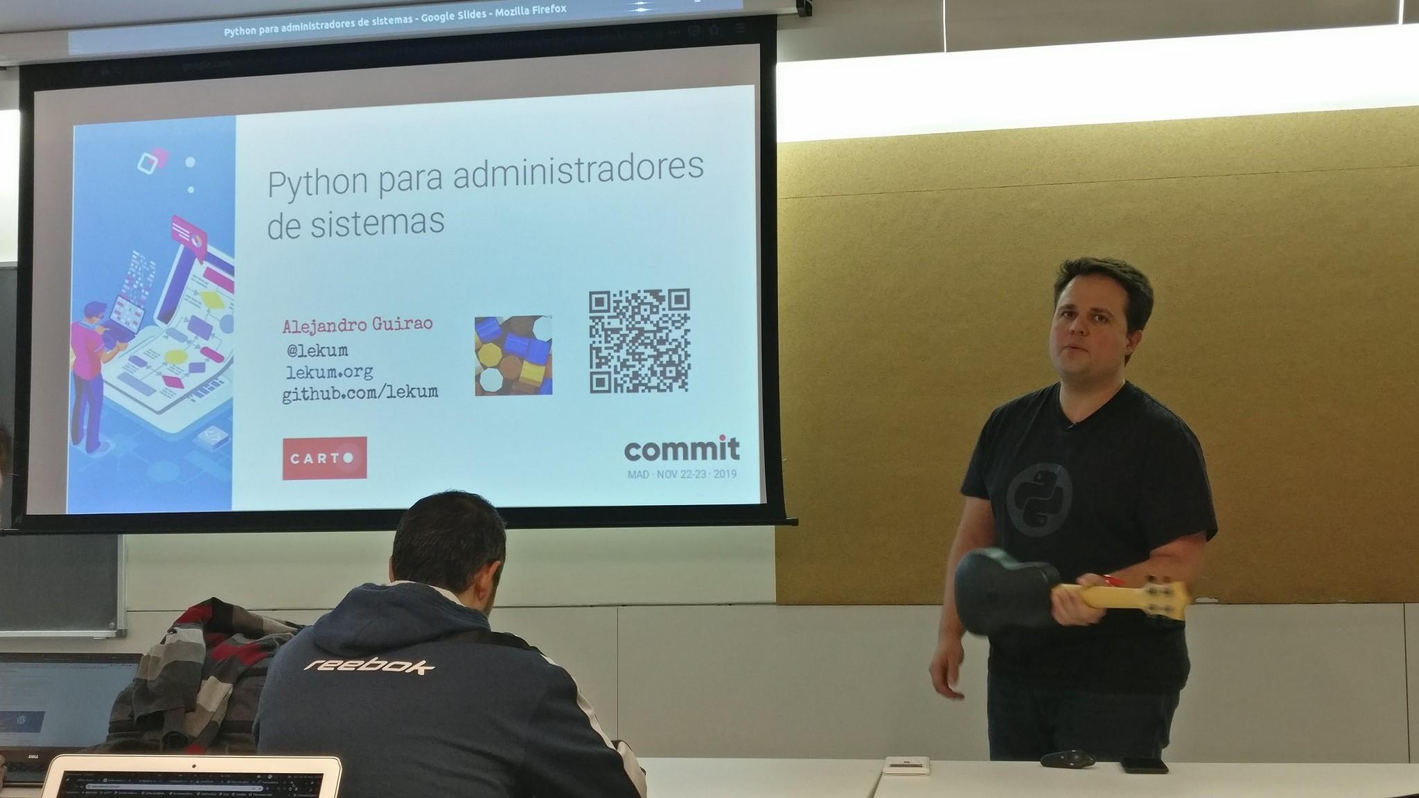 Alejandro Guirao at Commit Conf 2019