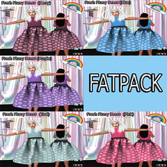 ((RBS)) Fresh Flurry Dress  (FATPACK) Tweenster