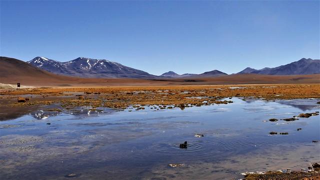 Berge, Sand und Wasser...