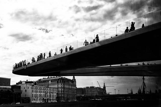 Mosca-Il belvedere sospeso...