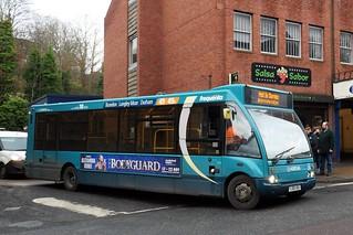 13524. Arriva Durham County YJ08XBU. Durham, 2019.