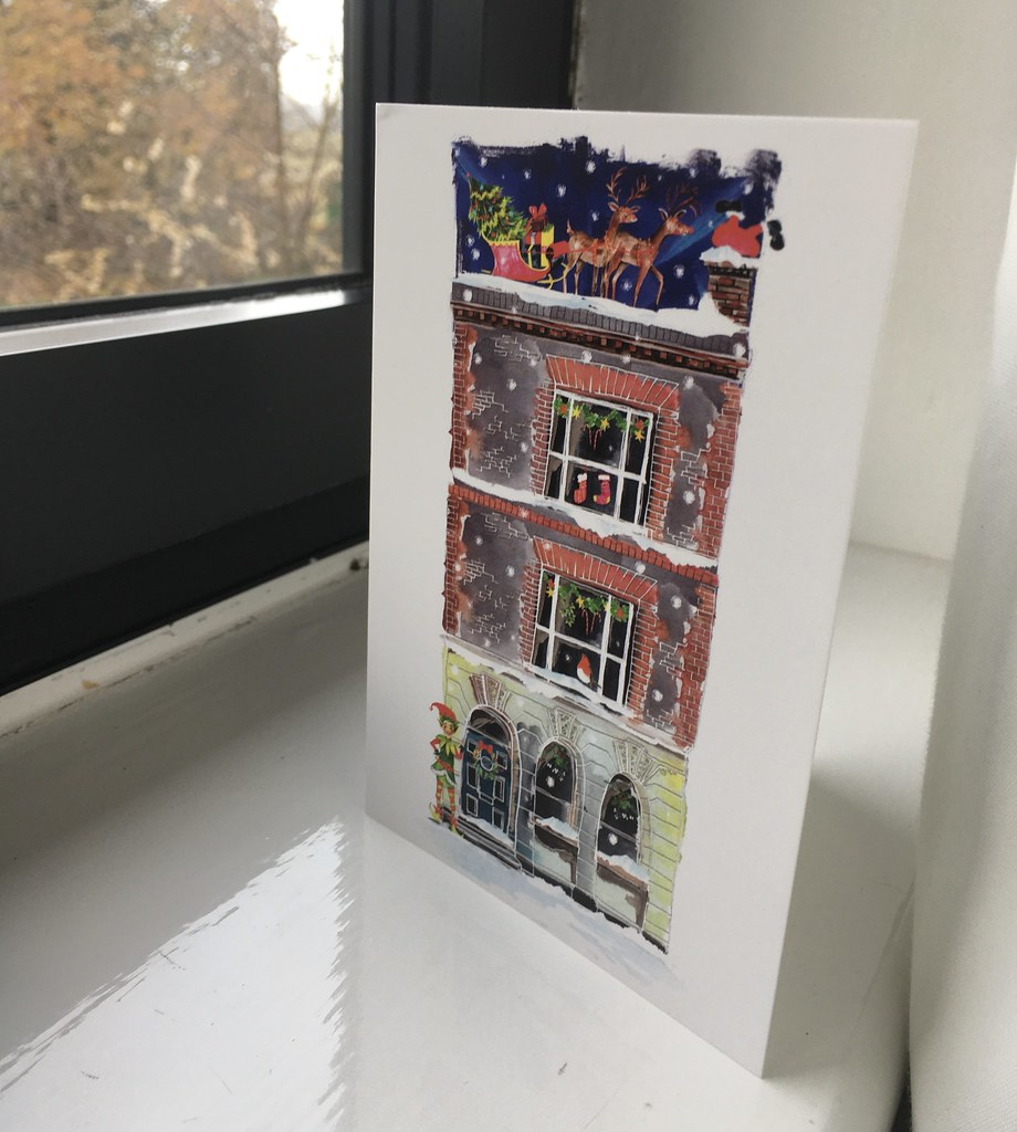 The old counting house card