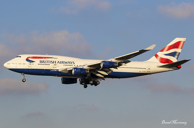 British Airways 747-400 G-CIVE