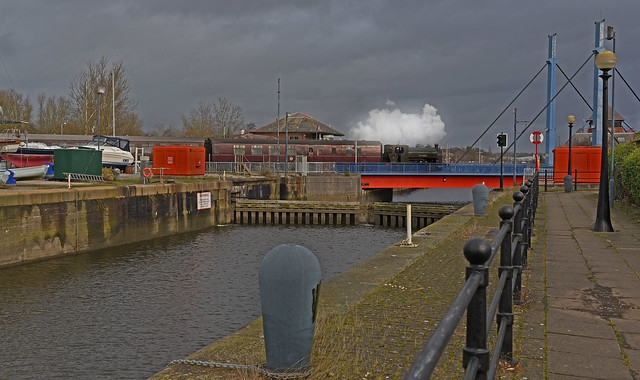 Steam on the Docks