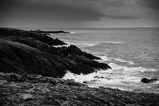Morbihan, Quiberon, B&W, 61