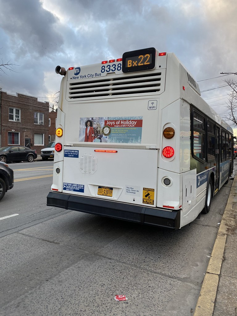2016 Nova Bus LFS 8338 - Bx22 To Fordham Center