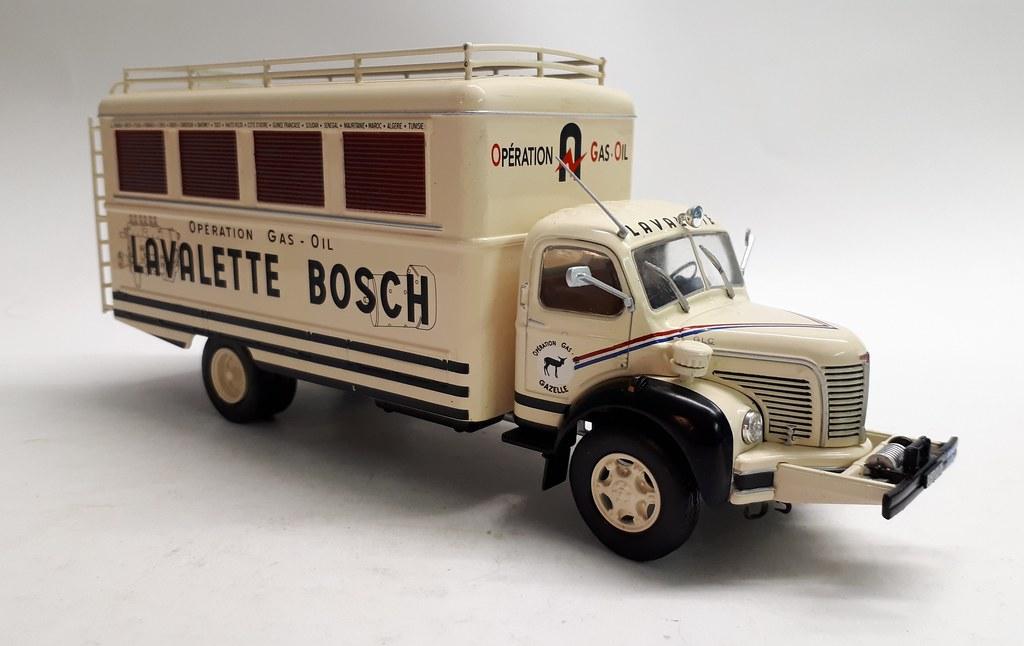 Berliet GLC 6. Opération Gas-oil. 1953.