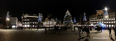 Christmas at Dam Square Amsterdam