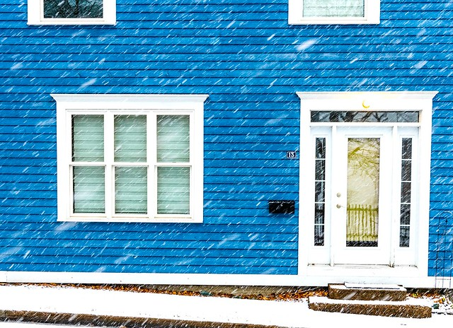 Snowing Sideways